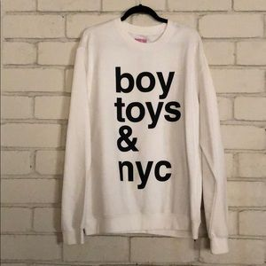 """Married to the Mob Sweaters - Married to the mob sweater """"boy toys & nyc"""""""